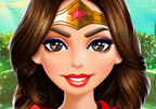 Wonder Woman Face Care and Make Up