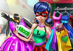 Dotted Girl Realife Shopping