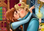 Frozen Anna Kiss